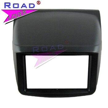TOPNAVI Car Radio Fascia for Mitsubishi Pajero Sport/ Triton 2010 2DIN Dash Mount Kit Adapter Trim Facia Panel Frame Dashboard