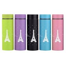 Torre Eiffel Taza termo Taza Ventosa 304 De Acero Inoxidable Con Aislamiento 260 ML Botella Térmica Tazas Frasco Hogard