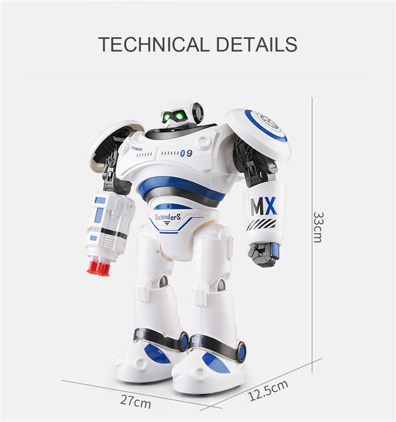 JJRC R1 Intelligente Programmable Marcher Danse Combat Defender RC Robot Pièces De Rechange