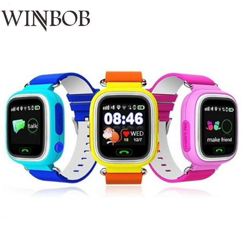 Child GPS Smart Watch Q90 With Wifi Touch Screen Children Smartwatch SOS Call Location For Kid Safe Anti-Lost Monitor PK Q50 Q80