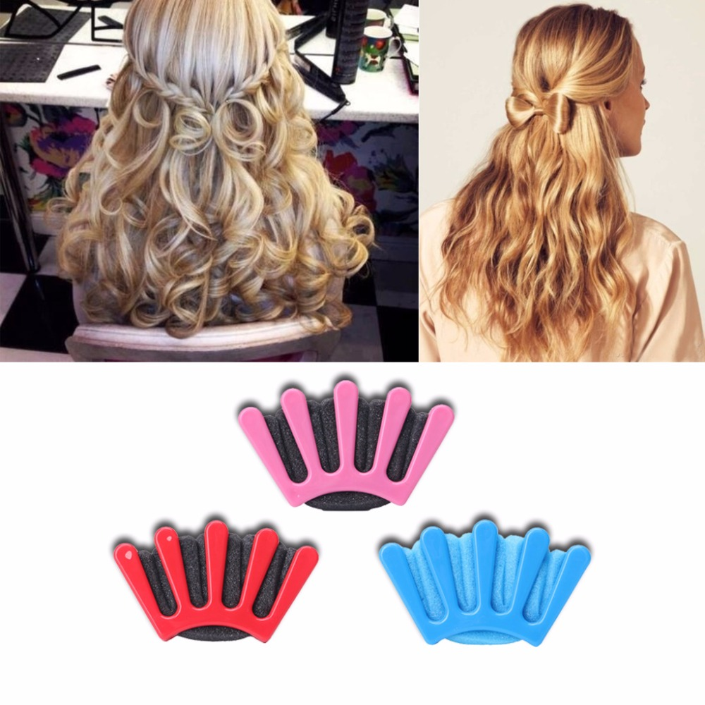 nueva moda diy herramienta trenza del pelo de la trenza torcedura styling trenzadora francs esponja titular