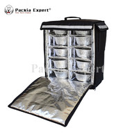 Food Delivery Backpack Waterproof Insulated Cooler Bag Pizza Bag Wholesale or Customized