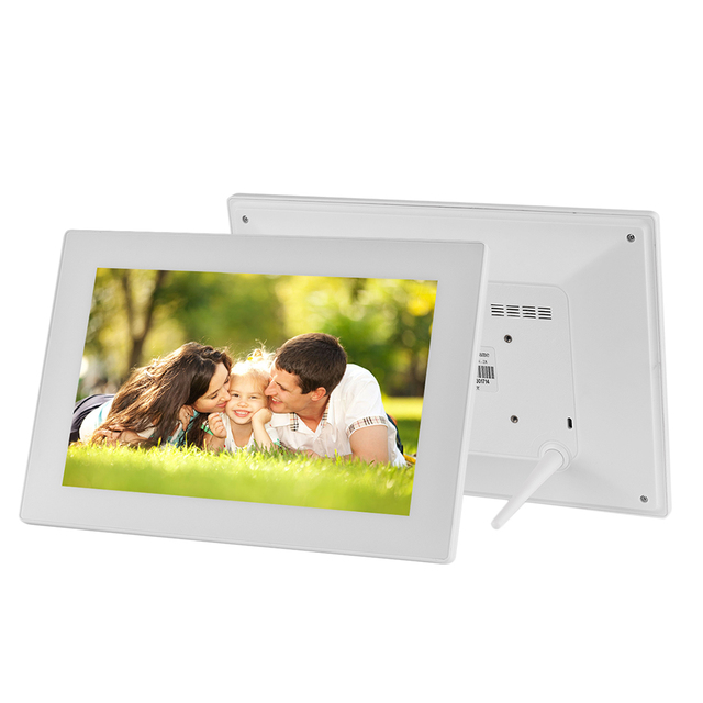 102 Inch Touch Screen Wifi Cloud Digital Photo Frame Tempered Glass