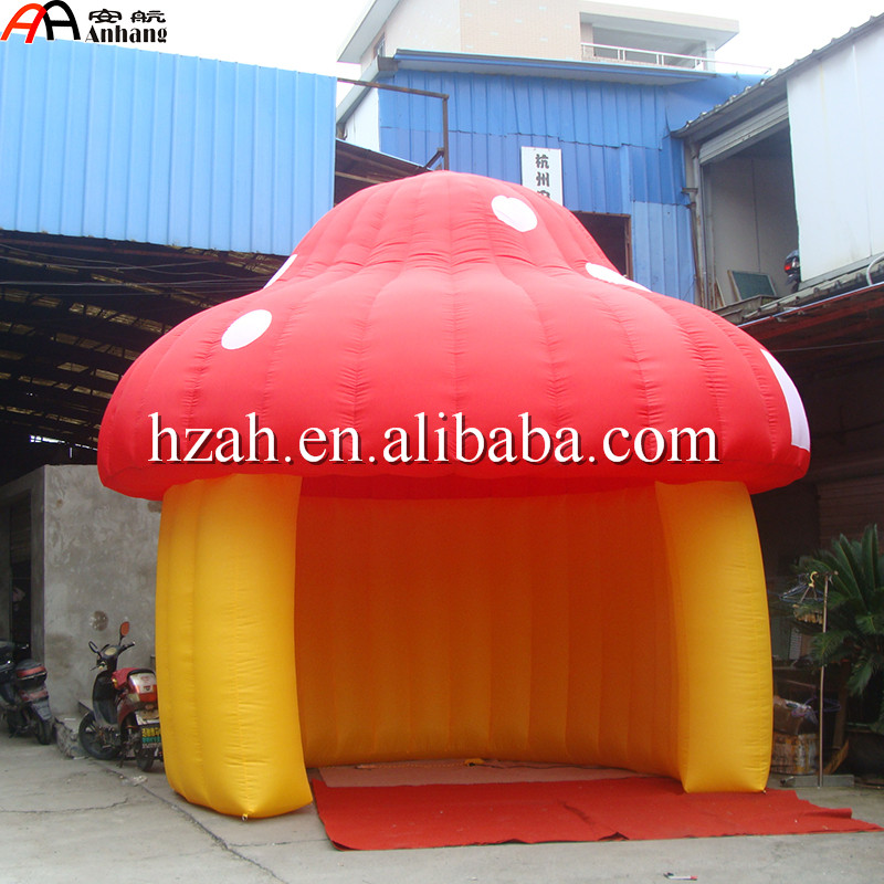 Free Shipping Inflatable Mushroom Tent For Kids Party