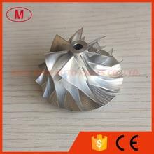 KP39 7+ 7 лезвий 33,60/46,00 мм Производительность 5443-123- турбинная заготовка/aluminun 2618/фрезерный компрессор колеса для 5439-970-0065/89
