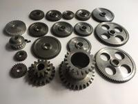 Freeshipping 18pcs/set mini lathe gears , Metal Cutting Machine gears , lathe gears