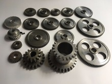 Freeshipping 18pcs/set mini lathe gears , Metal Cutting Machine