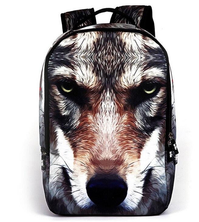 0b6c2a6b4 US $23.99 |3D Shark Backpack Women Men Travel Laptop Rucksack School Bags  for Teenagers Backpacks Printing Bag Casual Mochila-in School Bags from ...