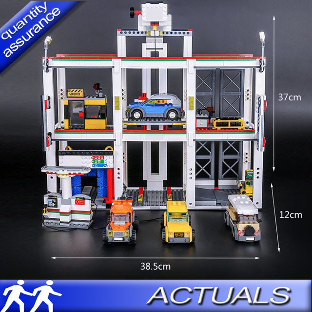 Compatible With Lego 4207 Lepin 02073 1045pcs City Town Building