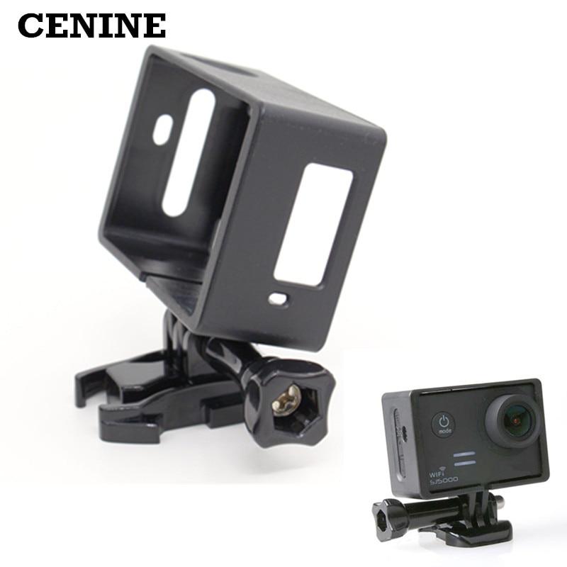 Sj5000 standartinis rėmelis Sjcam SJ5000 + Plus Wifi apsauginiams sienos kameros priedams su greito atlaisvinimo pagrindo varžtu