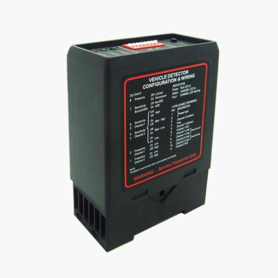 Motorised Gates Doors inductive loop detector PD232 Dual Two Channel Vehicle Sensors 110V 120V//220/230V/24V /12v цены онлайн