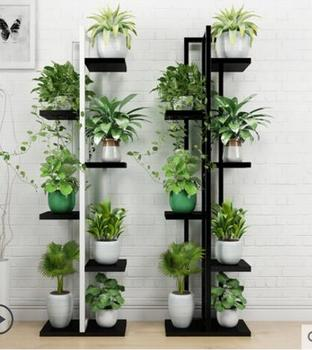 Living room shelf multi-layer indoor special price save space iron art balcony meat green plant decoration frame economy