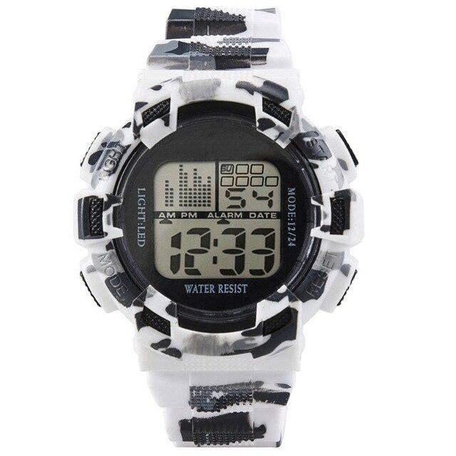 Fashion Mens Digital LED Analog Quartz Alarm Date Sports Wrist Watch Dropshippin