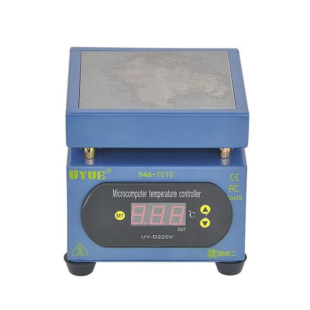 220 V/300 W Température Constante Chauffage Table PCB Plaque Chaude Préchauffage Station Pour Mobile Téléphone Écran Partagé/Smart Téléphone Réparation