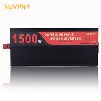 SUVPR 1500 Вт Чистая синусоида автомобиля мощность Инвертор 24 В в/12 В постоянного тока до ac В 220 Авто напряжение конвертер инвертор traveler зарядное