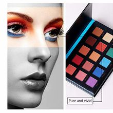 Fashion eyeshadow palette 15Color Glitter matte Eyeshadow palette Pigment Smoky Makeup palette paleta de maquiagem profissional