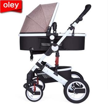 1c82b67a2 Zhilemei oley cochecito de bebé de paisaje puede sentarse o acostarse shock  de los niños de invierno Bebé entrega gratis a Rusia