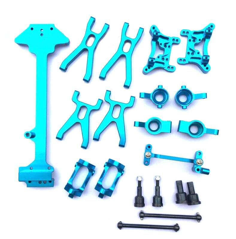 1 Set de pièces de rechange de mise à niveau pour WLtoys A949 A959 A969 A979 K929 1/18 RC 4WD modèle de voiture