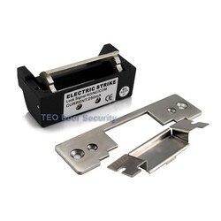 ANSI القياسية الثقيلة الكهربائية سترايك قفل 800 كيلوجرام عقد قوة زجاج الباب الكهربائية سترايك السلطة لفتح/قفل قابل للتعديل