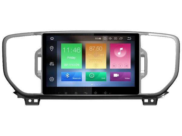 Navirider Android 8,0 радио магнитофон octa Core 4 ГБ оперативная память 32 ГБ Встроенная с ips экран для KIA SPORTAGE 2016 стерео головное устройство