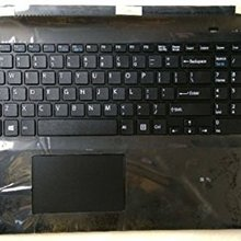 Touchpad-Cover SVF153 SVF-152C29M Sony Vaio Palmrest Us Keyboard Black Non-Backlit New