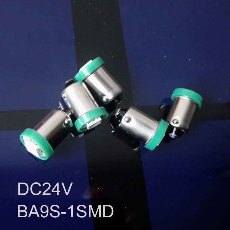 Высокое качество грузовик 24 В BA9S свет 24 В BA9S LED световой сигнал, BA9S 24 В светодиодный индикатор, контрольная лампа бесплатная доставка 500 шт./ло...