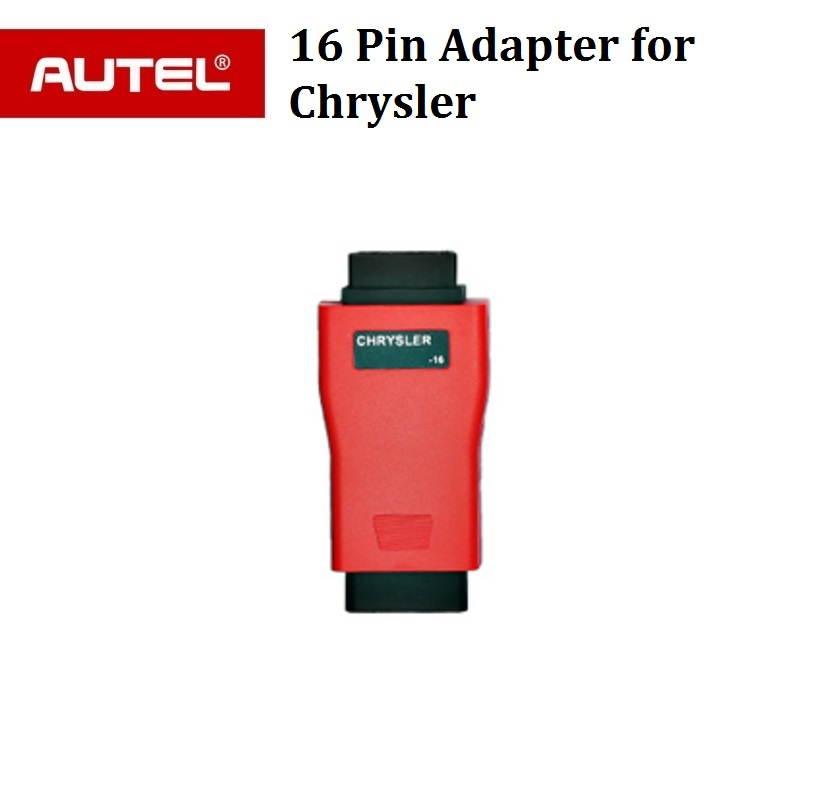 Autel 16pin adapter for Chrysler for AUTEL Maxisys pro ms908p & Autel Maxisys Elite ,ms906,ds808,mk808