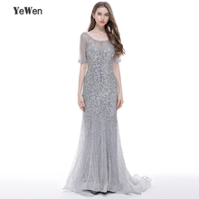 Luxury Evening Dress YeWen Mermaid Prom Dresses Dress 2019