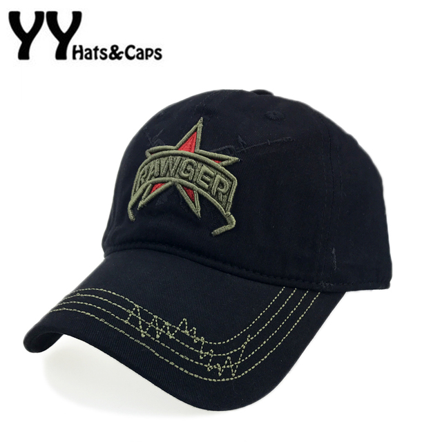 Pentagram Baseball Cap Cotton Army Snapback Hat MenTactical CAP Embroidery  Gun RANGER Hats Women Camouflage Snap Back YY17195 f9ea3ed66243