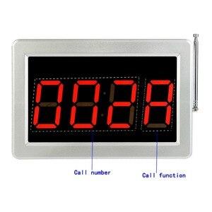 Image 3 - Retekess buscapersonas para restaurante 15 T117, botones de transmisor de llamadas, 2 reloj receptor, sistema de llamadas inalámbrico, Bar, café, buscapersonas