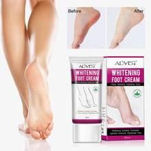 50 мл отбеливающий крем для ног увлажняющее лечение питательное
