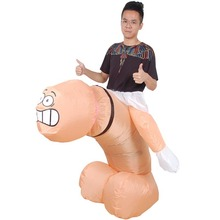 Penis Willy Cock Dick Cosplay Costume for Adult Sexy Inflata