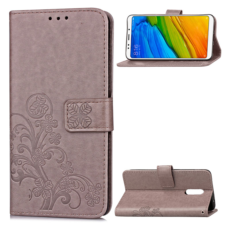 KEFO Luxury For Xiaomi Redmi 2A 3S 4 4A 4X 5A 5 Plus Redmi Note 2 3 4X 5A 5 Pro Case 3D Embossing Book Style Card Holder Cover   (12)