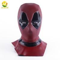 Deadpool Mask Cosplay Breathable Full Face Mask Halloween Deadpool Cosplay Prop Hood Helmet Accessories