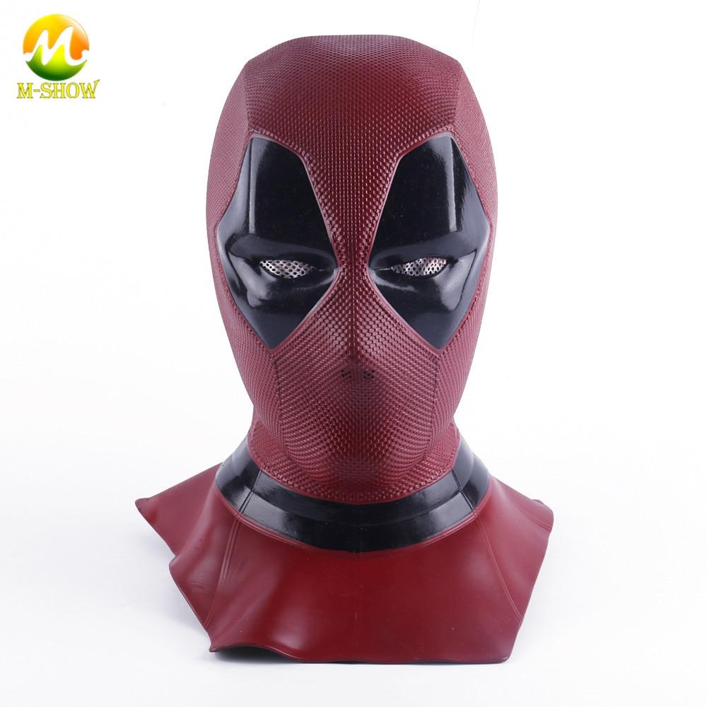 Masque Deadpool masque intégral respirant Cosplay Halloween Deadpool Cosplay accessoires casque
