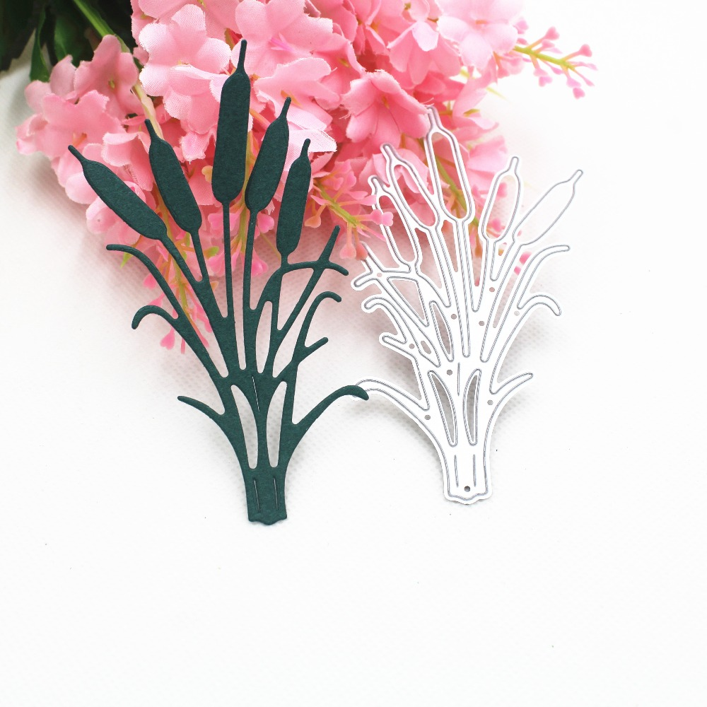 Flower And Grass Metal Cutting Dies Stencils For DIY Scrapbooking Stamp/photo Album Decorative Embossing DIY Paper Cards