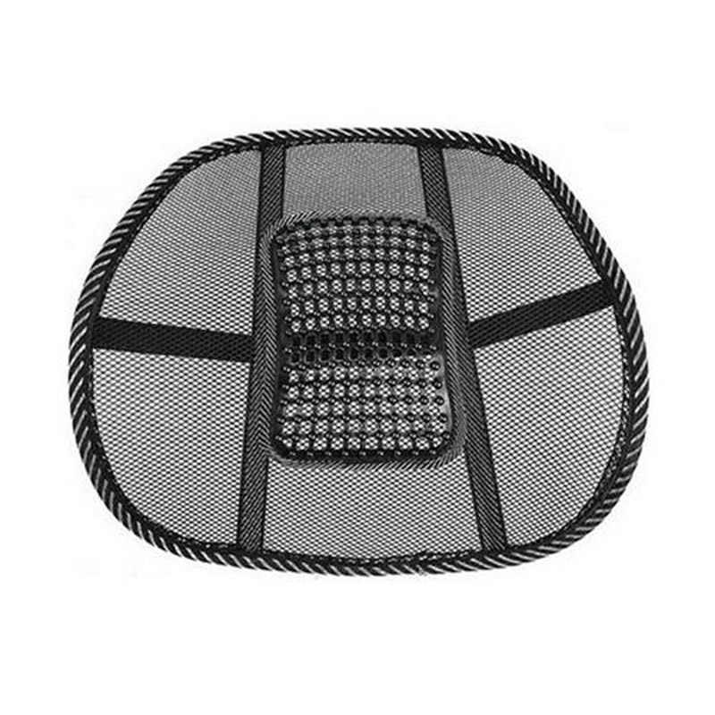 Стул для спины, массажная подушка, сетчатый рельеф, поясничная Скоба для автомобиля, грузовика, офиса, дома, подушка, кресло, поясничная спинка, опорное кресло