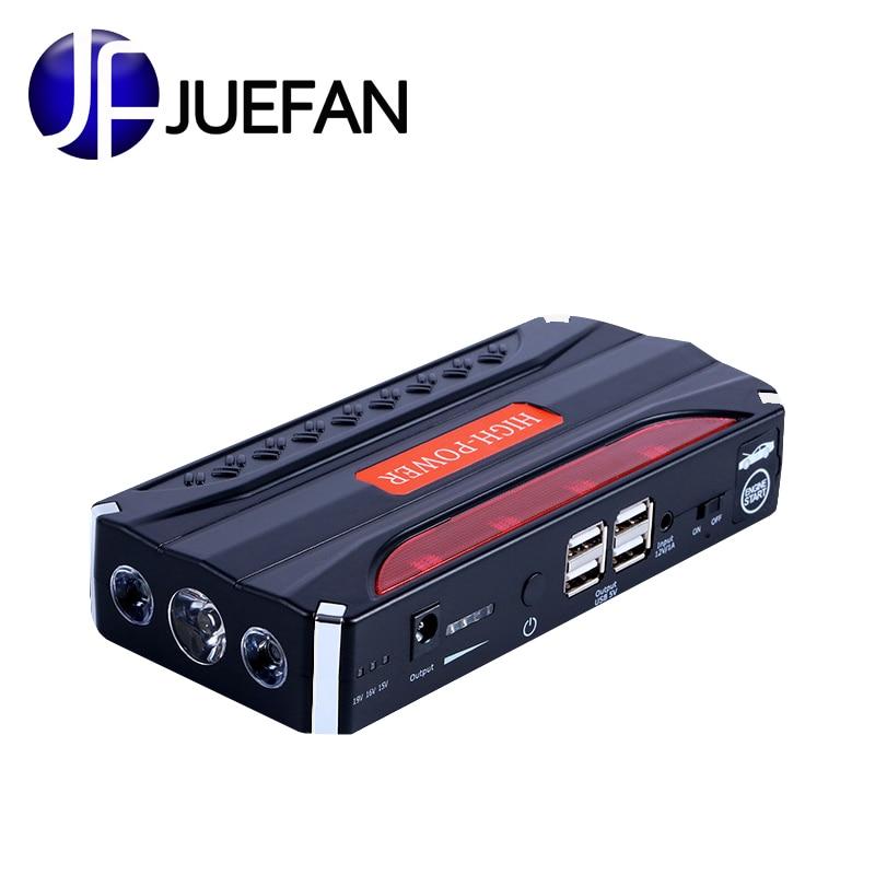 JUEFAN Mini Portable 12 V voiture batterie saut démarreur automatique cavalier moteur puissance multi-fonction voiture démarrage alimentation de secours