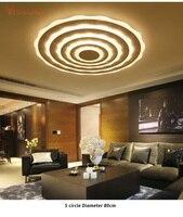Простые современные потолочный светильник Панель поверхностного монтажа Освещение приспособление plafonnier LED заподлицо лампы для Гостиная