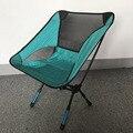 Topquality light weight folding camping stool assento da cadeira para pesca festival picnic churrasco de praia com saco vermelho orange azul