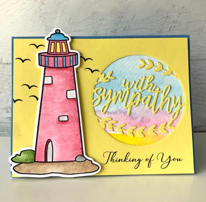 Julyarts Lighthouse Metal Cutting Dies Scrapbooking 2019 Mandala Stencils Photo Album Card Making Crafts Cut