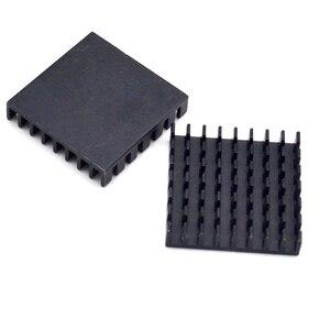 Image 4 - 5pcs Heat sink 28*28*6MM (black broken groove) high quality radiator