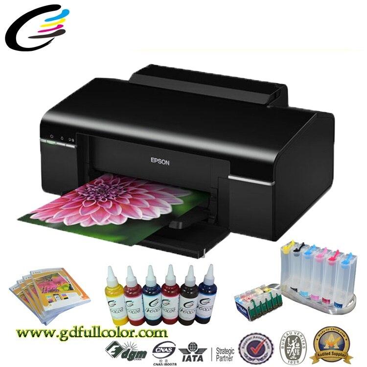 A4 A Getto D'inchiostro di Sublimazione macchina da Stampa per Epson T50 Stampante Desktop