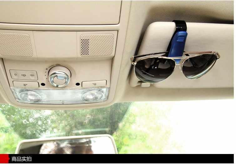 車のメガネクリップホルダーチケットクリップフィアット 500/パンダ/Stilo/プント Doblo/グランデ/ ブラボー 500 Ducato/ミニバス車スタイリング