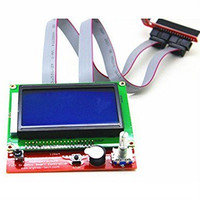 12864 LCD Display 3D Printer Kit Smart Parts RAMPS 1 4 Controller Control Panel Monitor Motherboard