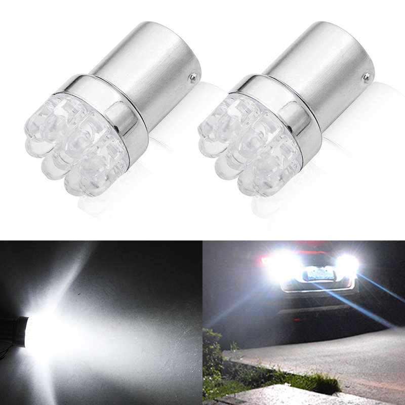 2pcs Car light <font><b>bulb</b></font> 1156 BA15S <font><b>P21W</b></font> S25 7506 R5W Car <font><b>Leds</b></font> lights 9 <font><b>LED</b></font> 2835 SMD Rear Turn Signal Lamp Backup Light DC 12V image