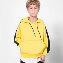 5-12 Yrs Boys Sweatshirts Brand Good Quality Hooded Jacket For Boy Teenage Kids Spring Fall Cotton Child Clothing