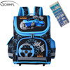 New 2016 Boys Schoolbags Kids Satchel Child School Backpack EVA Folded Orthopedic Children School Bags For