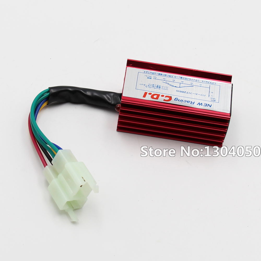 6 Pin Performance Racing AC CDI Box for <font><b>50</b></font> 70 90 110 125 150 <font><b>250</b></font> cc Chinese ATV Quad Dirt Pit Bike image