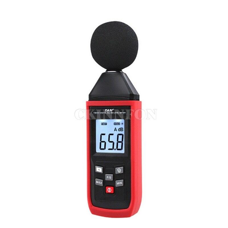DHL 20PCS Handy LCD Digital Sound Level Meter DB Tester 30dB ~ 130dB Noise Measurement